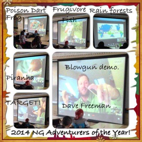 Rainforest virtual school assembly